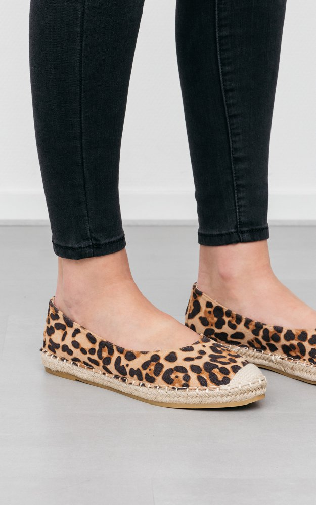 leopard print espadrilles uk