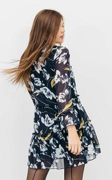 Kleid Jade - Kleid mit hohem Kragen
