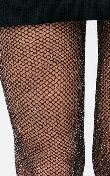 Tights Katy - 15 DEN tights with silver detail