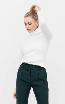 Shirt Shaelle - Col shirt met rib detail