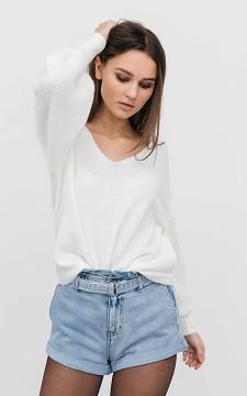 Shorts Jesse - Paperbag denim shorts