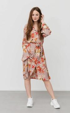 Jurk Marijke - Lange jurk met print