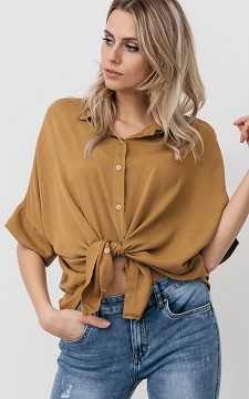 Blouse Maud - Oversized blouse with buttons