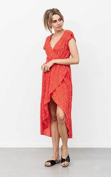 Dress Alexis - Long dress with ruffles