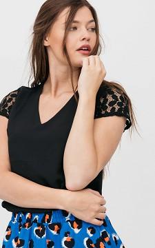 Shirt Manouk - Shirt with lace details