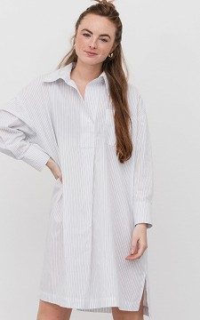 Dress Mijke - Long striped dress