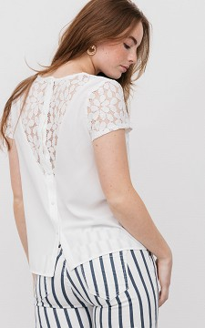Shirt Manouk - Shirt with lace details
