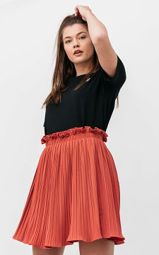 Skirt Jilde - Short plissé skirt