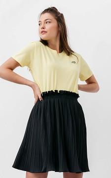 Skirt Jilde - Short plissé skirt