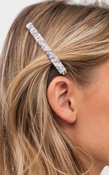 Haarspeld Pearl - Grote goudkleurige haarspeld