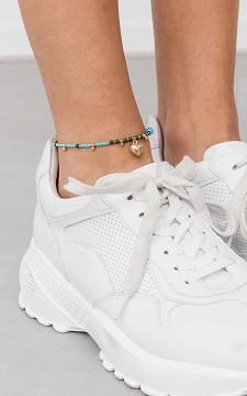 Ankle Bracelet Luna - Anklet with pendants
