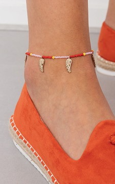 Ankle Bracelet Fly Around - Anklet with pendants