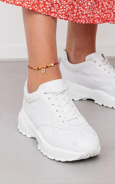 Ankle Bracelet Coin - Anklet with pendants