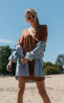 Dress Jilde - Basic short sleeve dress