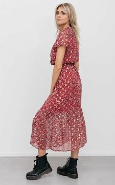 Dress Indy - Long patterned dress
