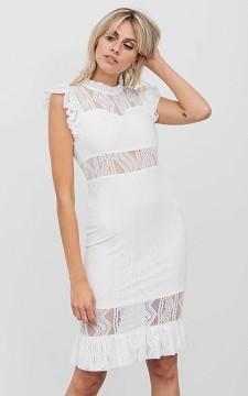 Kleid Sydney - Langes Kleid mit transparenten Details