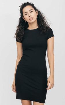 Robe Jenna - Robe basique en tissu côtelé