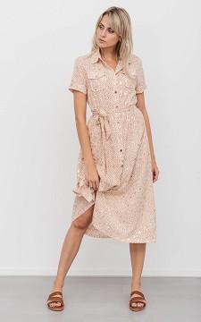 Jurk Sonja - Lange jurk met knoopsluiting