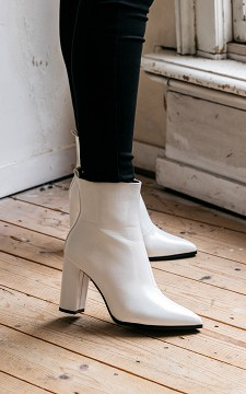 Boot Aniek - Lacquer imitation leather boots