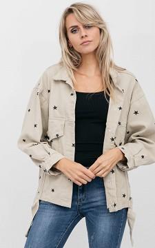 Denim Jacket Dwane - Oversized jacket with pockets