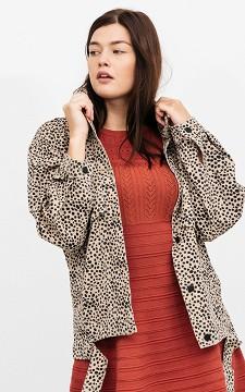 Denim Jacket Zoe - Patterned oversized jacket
