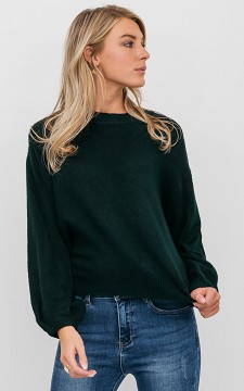 Sweater Kaylee - Sweater with neck tie