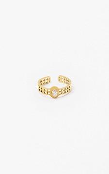 Ring Daisy - Verstelbare ring met een steentje