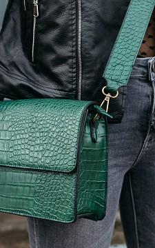Bag Stefanie - Snake skin pattern bag