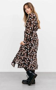 Dress Gerlinde - Long dress with buttons