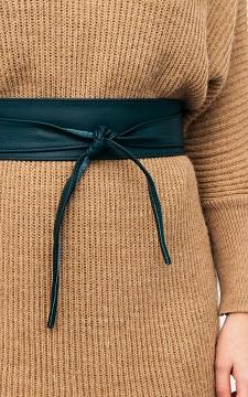 Belt Bobby - Leather double wrap belt
