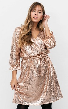 Dress Felicia - Sequin party dress