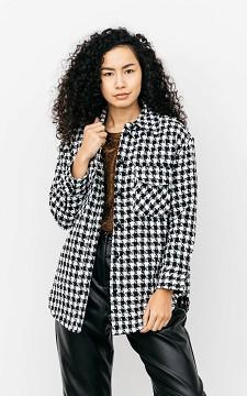 Blouse Kai - Oversized blouse met glitterdetail