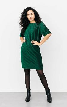 Kleid Kitty - Kleid mit Glitzer und Rundhalsausschnitt