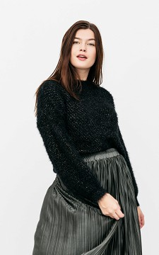 Sweater Mike - Fluffy sweater with glittery thread