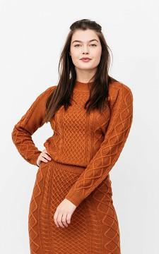 Pullover Rosalie - Strickpullover mit rundem Halsausschnitt