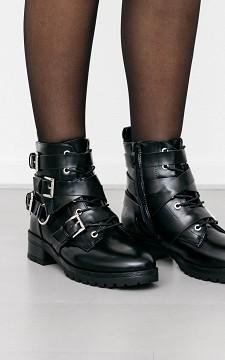 Boots Chern - Laarsje met veters en gespen