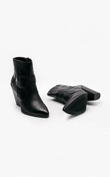 Boot Meryem - Snakeskin patterned boots