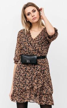 Kleid Donovan - Kleid mit Print und langen Ärmeln
