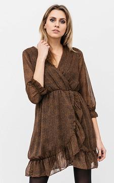 Dress Ruben - Longsleeve glittery dress