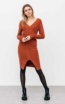 Kleid Rose - Wickelkleid mit Teilung