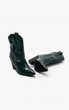 Boot Esra - Crocodile pattern cowboy boots