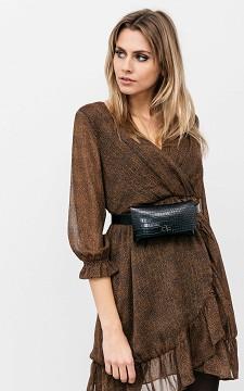 Hip Bag Karst - Crocodile pattern hip bag