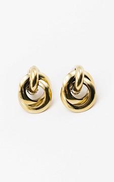 Earrings Silva - Stainless steel clip on earrings