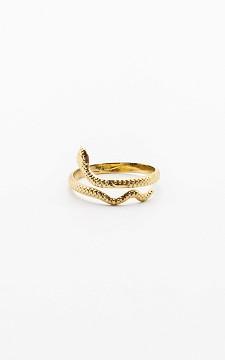 Ring Snake - Verstellbarer Ring aus Edelstahl