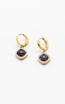 Ohrringe Serina - Ohrringe aus Edelstahl mit Steinchen