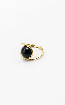 Ring Olga - Adjustable ring with small stone