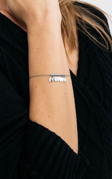 Armband Fay - Verstelbare armband van stainless steel