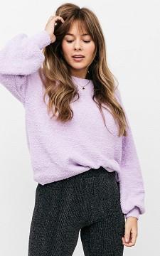 Pullover Esther - Pullover mit rundem Halsausschnitt und Ballonärmeln