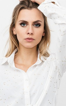 Blouse Paul - Blouse with shiny details
