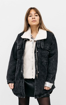 Jacket Kelly - Teddy lined jacket with pockets